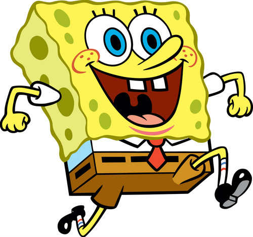 Spongebob Squarepants kertas dinding with Anime called spongebob