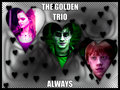 the goledn trio - hermione-granger fan art