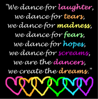 this is why dancers dance