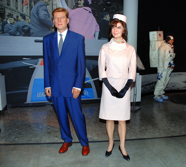 Jacqueline Kennedy Onis Images Wax Figure Of Jackie