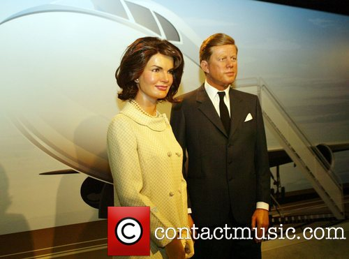 wax figure of Jackie Kennedy.