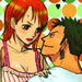 zoro nami one piece - nami-and-zoro icon