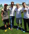 ♥ 1D & Real Madrid - one-direction photo