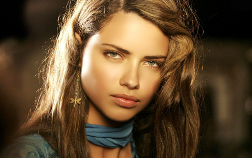 Adriana Lima wallpaper containing a portrait titled Adriana Lima