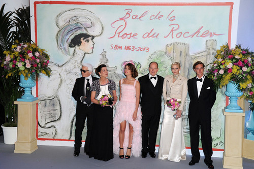 'Bal De La Rose Du Rocher' in Aid of the Foundation Princess Grace