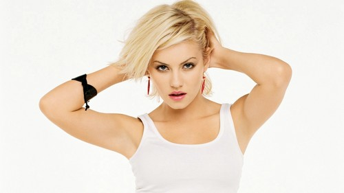 Elisha Cuthbert wallpaper possibly containing attractiveness and a portrait titled Elisha Cuthbert