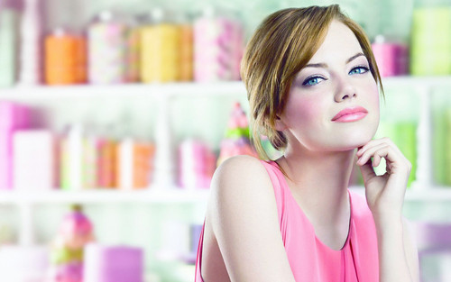 Emma Stone wallpaper probably with an athenaeum and a portrait entitled  Emma Stone