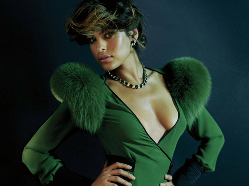 Eva Mendes wallpaper possibly containing tights called  Eva Mendes