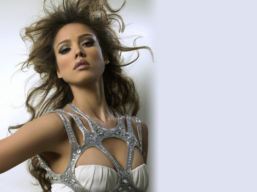 Jessica Alba wallpaper possibly with attractiveness and a portrait entitled  Jessica Alba
