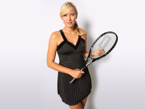 Maria Sharapova kertas dinding containing a Tenis racket, a Tenis player, and a Tenis pro entitled Maria Sharapova