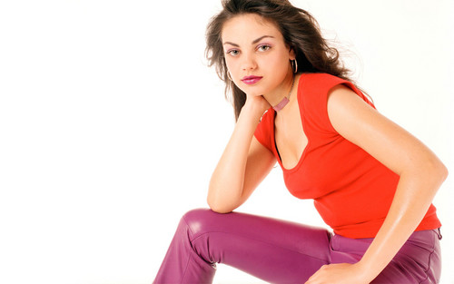 Mila Kunis wallpaper containing tights called  Mila Kunis