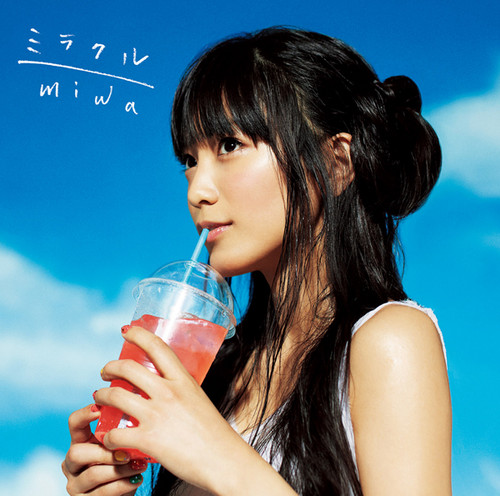 miwa wallpaper entitled 「Miracle」[Single Cover]