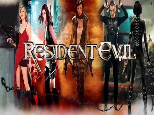 Resident Evil Movie wallpaper possibly with anime called  Resident Evil