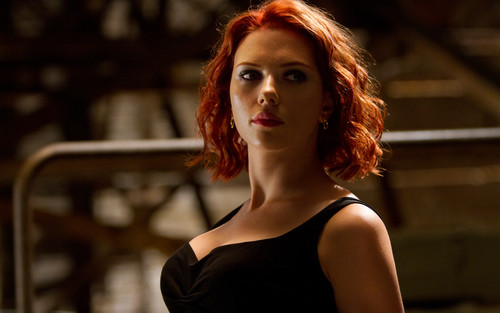 scarlett johansson wallpaper possibly with a bustier, a leotard, and a portrait entitled Scarlett Johansson