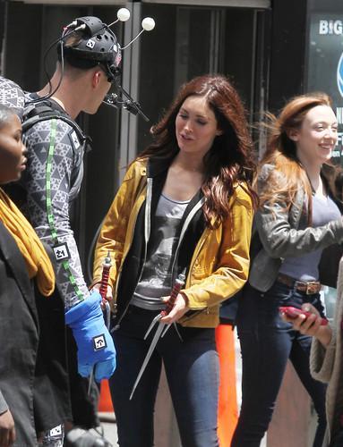 'Teenage Mutant Ninja Turtles' Films in NYC