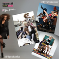 """ Tyra Takes Over @CW_ ANTM Instagram"" - americas-next-top-model fan art"