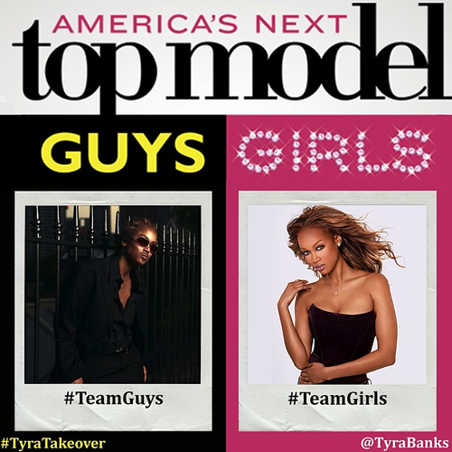 """ Tyra Takes Over @CW_ ANTM Instagram"""