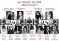 'Vampire Academy: Blood Sisters' official full cast