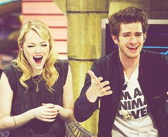 Andrew Garfield and Emma Stone پیپر وال entitled » andrew & emma «