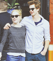 » andrew & emma «  - andrew-garfield-and-emma-stone fan art