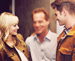 Andrew Garfield and Emma Stone wallpaper titled » andrew & emma «