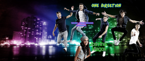 1D and gelsomino Villegas - Cover's Facebook