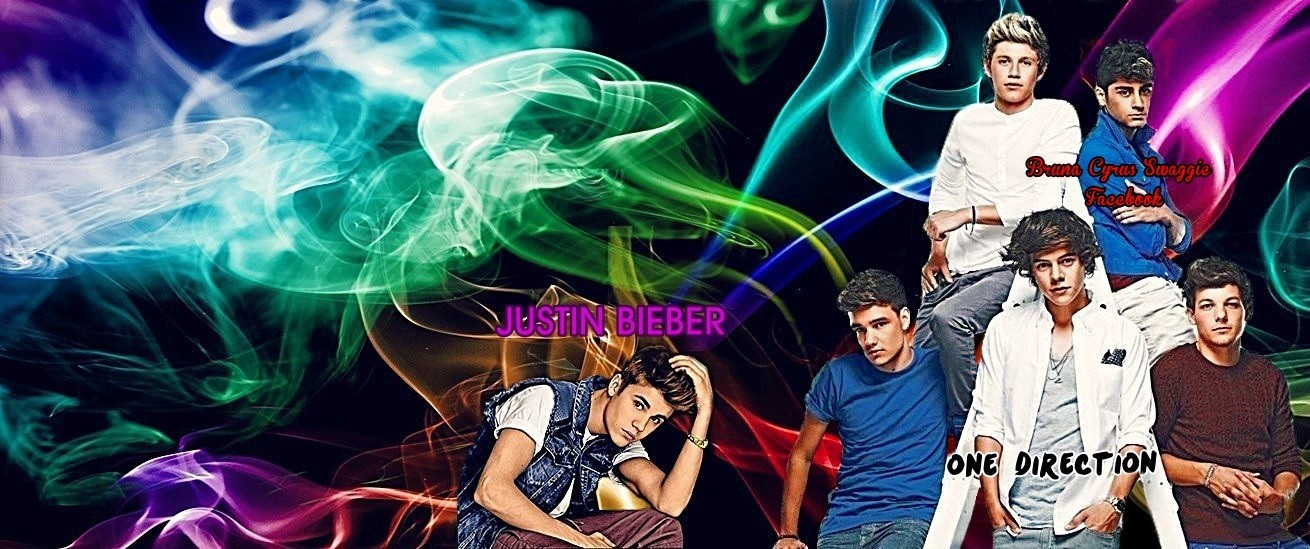 1D and Justin Bieber - Cover's Facebook