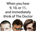 9, 10, 11 - doctor-who photo