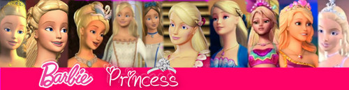 A Barbie Princess Banner