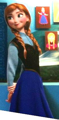 A Closer Look at Anna and Olaf's final design