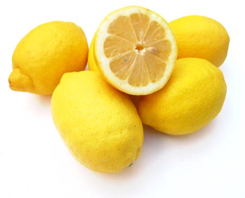 A Yellow फल called नींबू