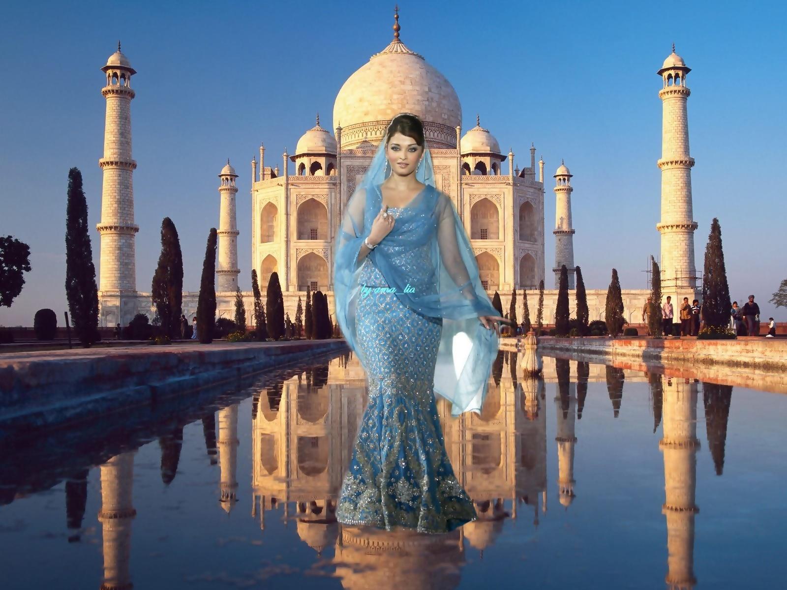 taj mahal images aishwarya rai - taj mahal hd wallpaper and