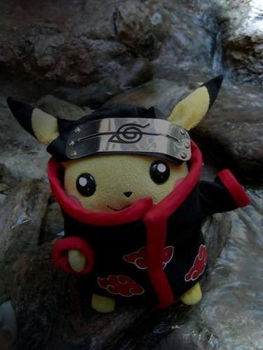 Akatsuki Member Pikachu