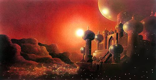 Aladin - concept art
