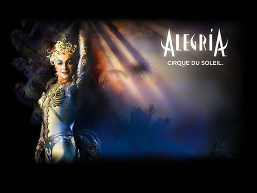 Cirque du Soleil kertas dinding possibly containing a konsert entitled Alegria