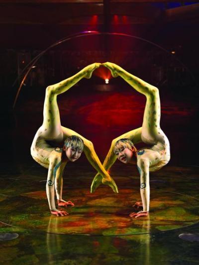 Alegria contortion act, taruka