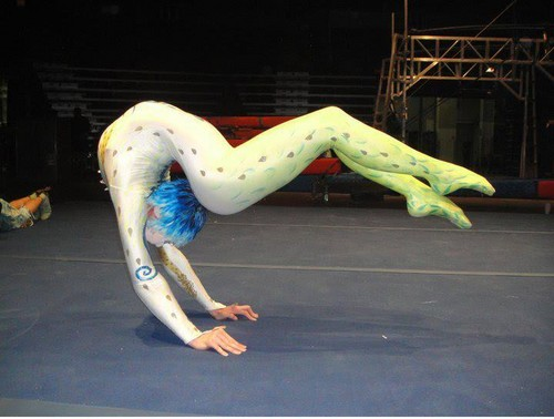 Cirque du Soleil پیپر وال entitled Alegria contortion reahersal, taruka