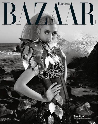 Allison Harvard for Harper's Bazaar Vietnam.
