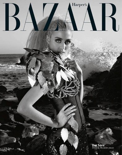 Allison Harvard for Harper's Bazaar Vietnam.