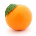 An नारंगी, ऑरेंज फल called