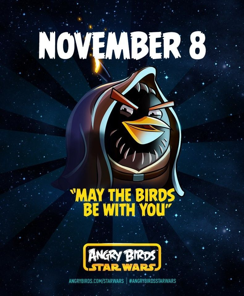 angry birds star wars promo poster angry birds photo 34537202 fanpop. Black Bedroom Furniture Sets. Home Design Ideas