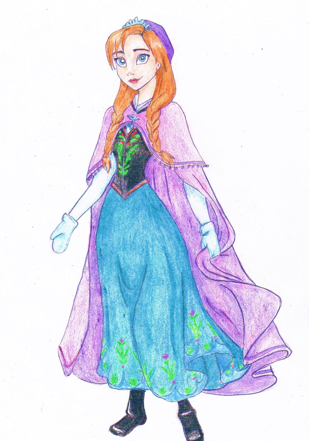 Anna frozen fan art 34532743 fanpop - Frozen anna disney ...