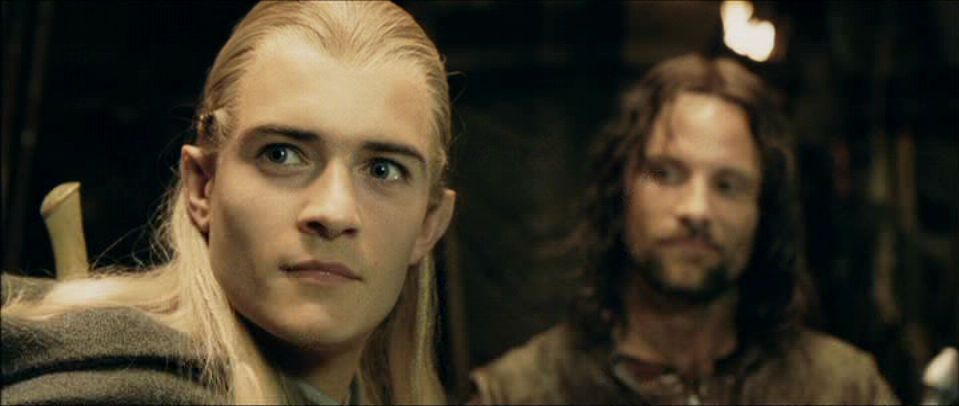 Aragorn and Legolas in The Two Towers - Aragorn and ...
