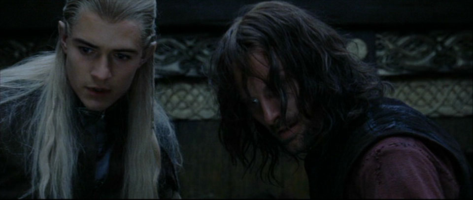 Return Of The King Aragorn Aragorn and Legolas in...