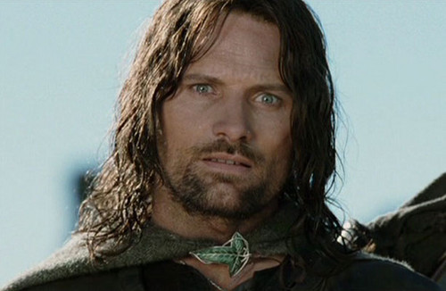 Aragorn fondo de pantalla titled Aragorn in The Two Towers