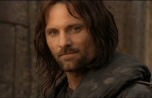 Aragorn in the Fellowship of the Ring