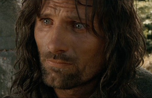 Aragorn Hintergrund called Aragorn in the Fellowship of the Ring