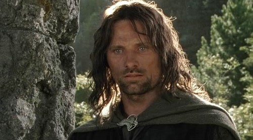 Aragorn Hintergrund possibly containing a sitka fichte entitled Aragorn in the Fellowship of the Ring