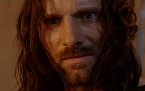 Aragorn in the Return in the King