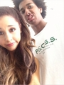 Ariana with family & friends - ariana-grande photo